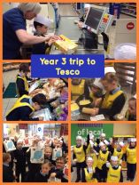 Year 3's trip to Tesco