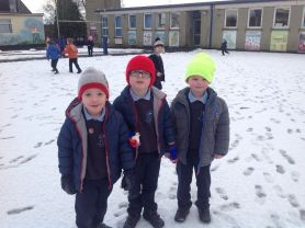 Year 1 Have fun in the snow!⛄️❄️❄️