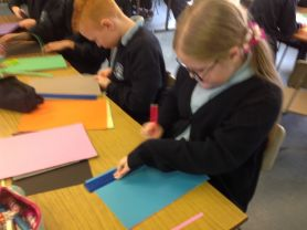 Year 6 Angles Art