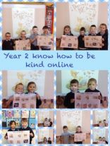 Year 2 know how to be kind online!