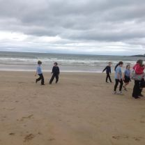Fun at the Beach for Primary 5 and 6