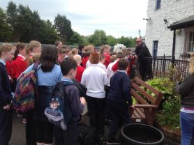 Year 7 Shared Education visit to Bushmills.