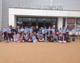 Year 5 & 6's trip to the Jet Centre