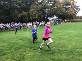 New Row Cross Country Squad enjoy Tobermore event