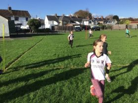 Years 6 and 7 Enjoy Cross Country Training