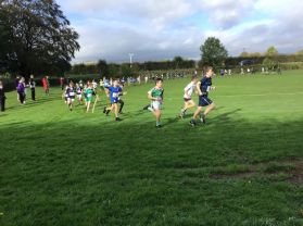Great Running by everyone at South Derry Cross Country Event
