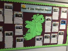 Where are the Year 4 Weather Watchers today?